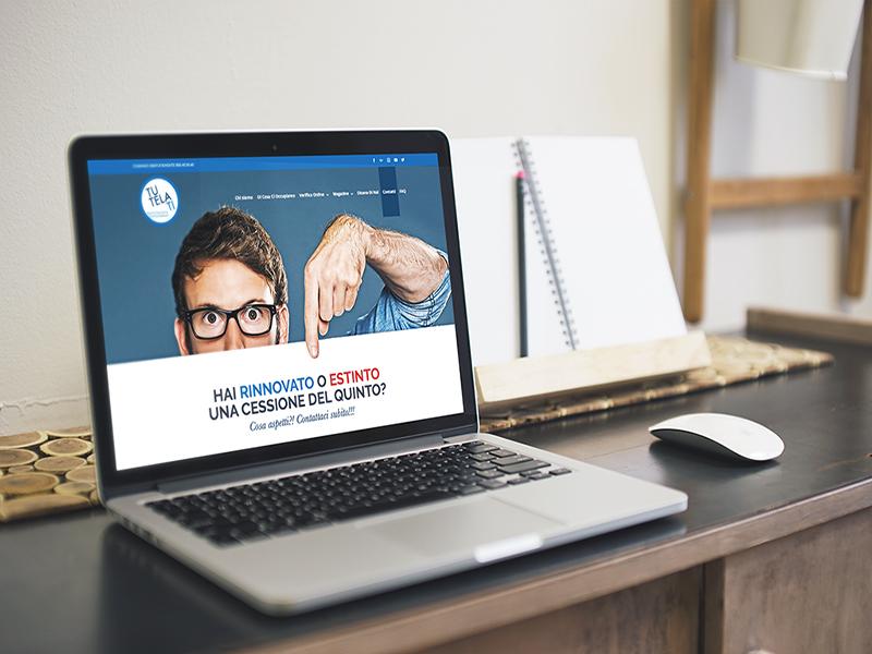 Progettazione e realizzazione Sito Web per TutelaTi Associazione Consumatori   by Studio PATh