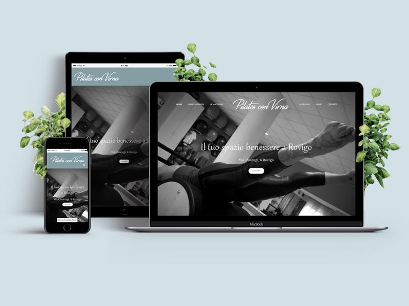 Progettazione Sito Web Responsive per Studio di Pilates con Virna | by Studio PATh