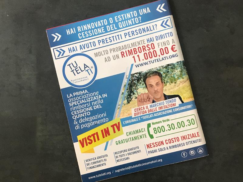 Progettazione e Impaginazione Magazineper TutelaTi Associazione Consumatori   by Studio PATh