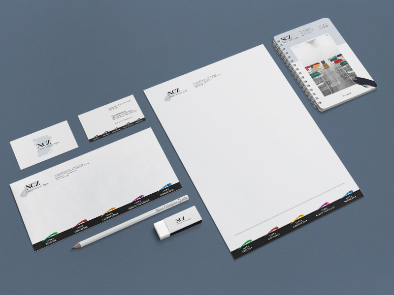 Sviluppo Corporate Identity per NCZ Nuovo Colorificio Zagato | by Studio PATh