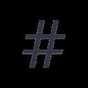 Hashtag Icon | #yeswecan