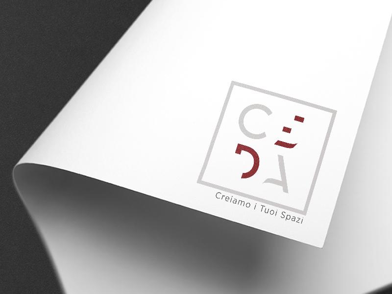 Progettazione Logo Aziendale per CEDA Creiamo i Tuoi Spazi | by Studio PATh