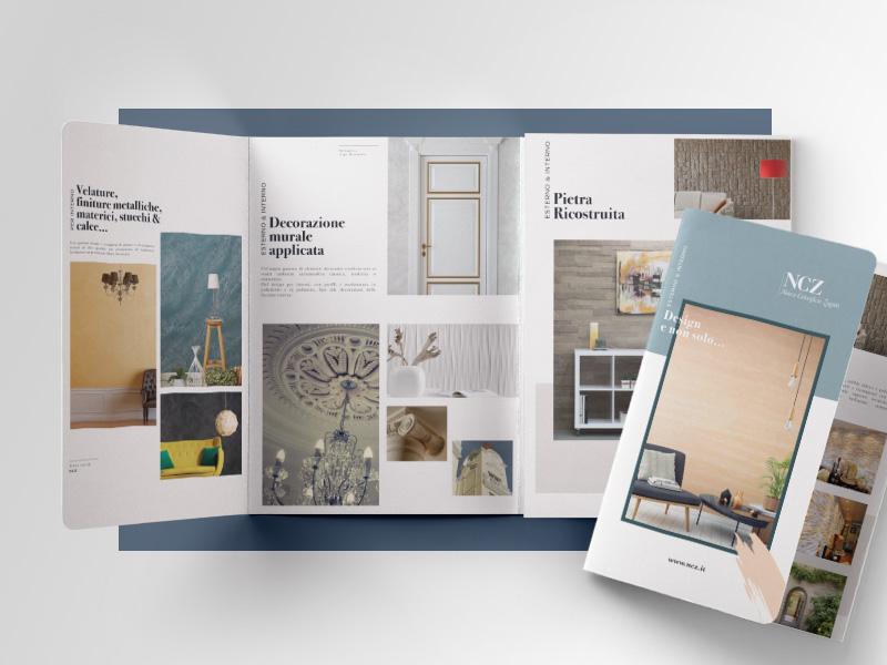 Progettazione Grafica e Impaginazione Schede Commerciali per NCZ Nuovo Colorificio Zagato | by Studio PATh