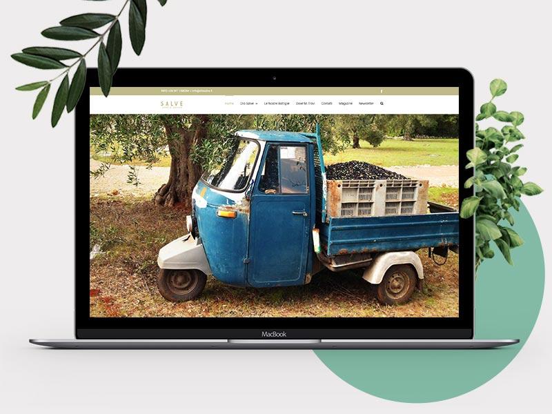 Realizzazione Sito Web responsive per Olio Salve | by Studio PATh