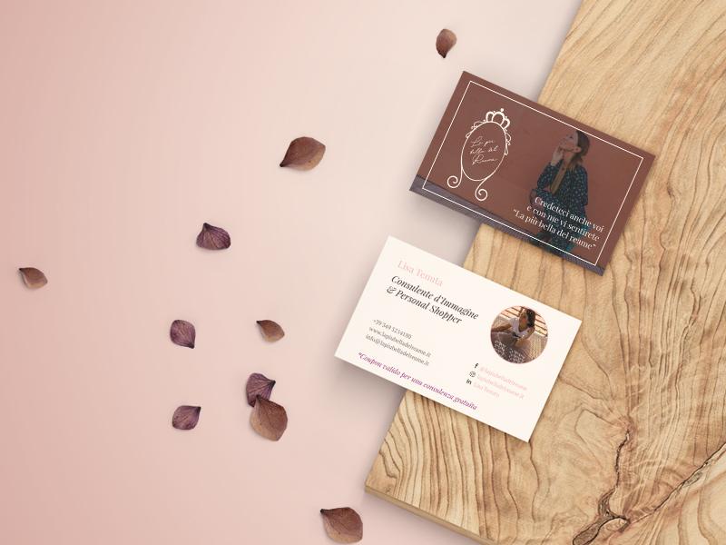 Progettazione Grafica Biglietto da Visita per La più Bella del Reame | by Studio PATh