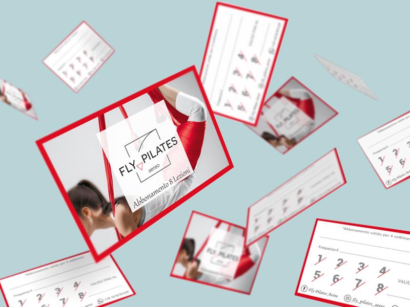 Progettazione Grafica Card per Studio di Fly Pilates | by Studio Pilates