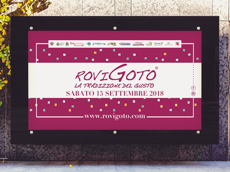 Progettazione Grafica Maxi Affissione per RoviGoto | by Studio PATh