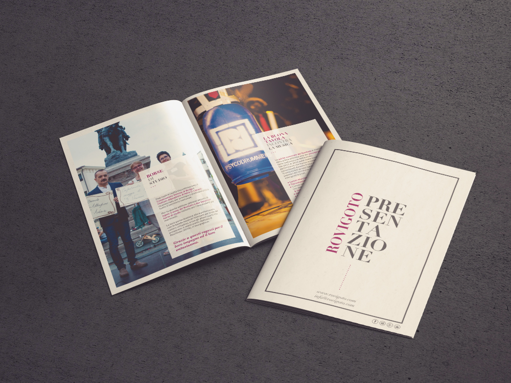 Realizzazione Brochure Manifestazione per RoviGoto | by Studio PATh