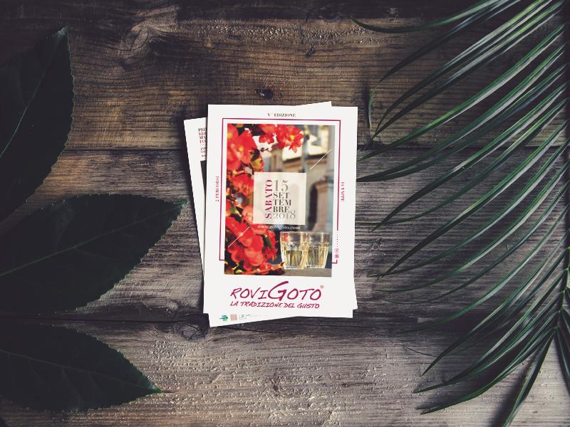 Progettazione Grafica Card Pubblicitaria per RoviGoto | by Studio PATh