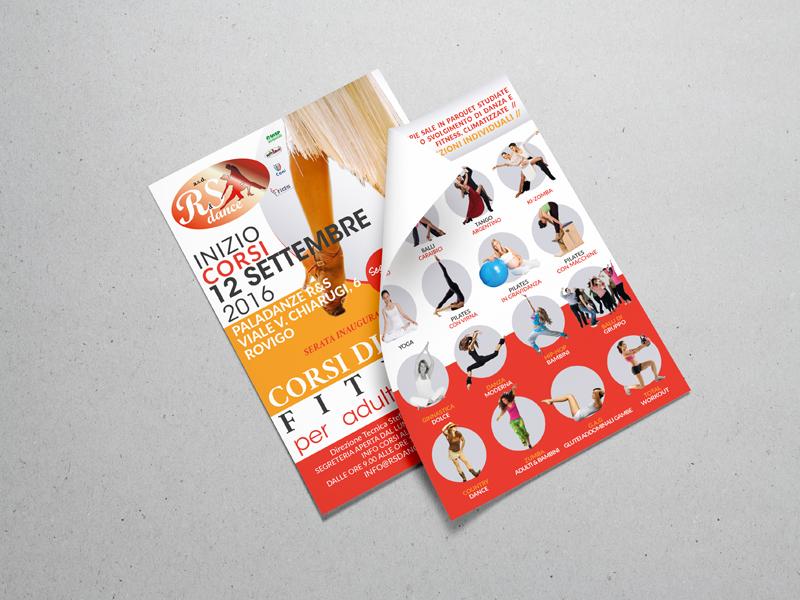 Progettazione Grafica Flyer per R&S Dance asd   by Studio PATh