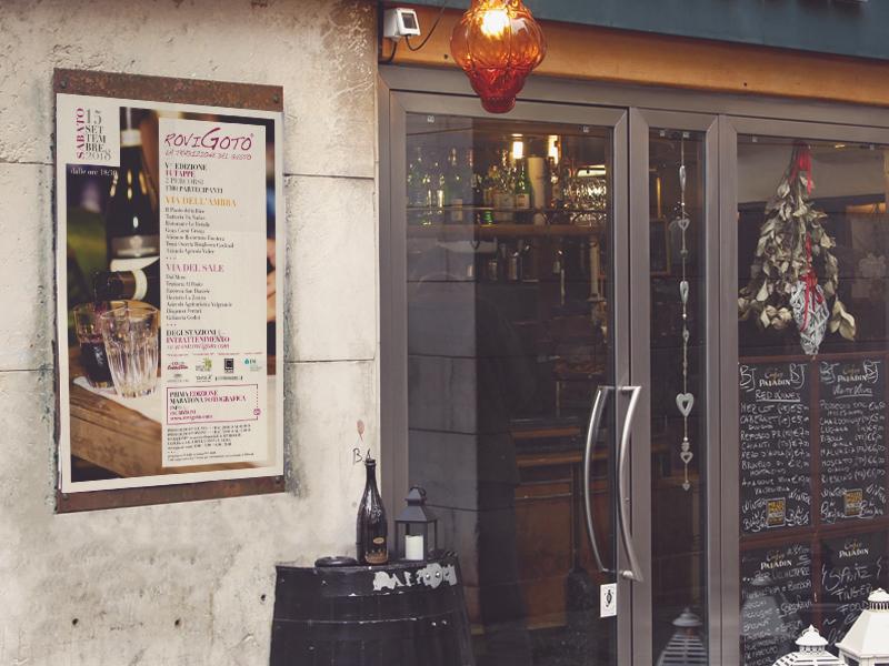 Progettazione Grafica Locandina per RoviGoto | by Studio PATh