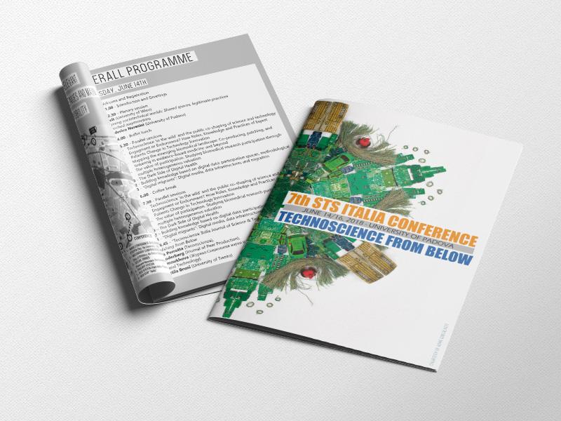 Progettazione e Impaginazione Programma Conferenza per STS Italia | by Studio PATh
