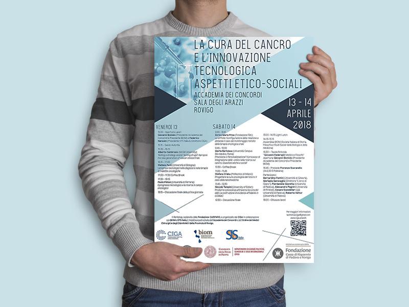 Progettazione Grafica Locandina per Centro CIGA | by Studio PATh