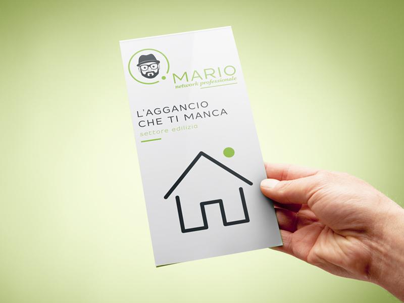 Progettazione Grafica Flyer per Mario Network | by Studio PATh