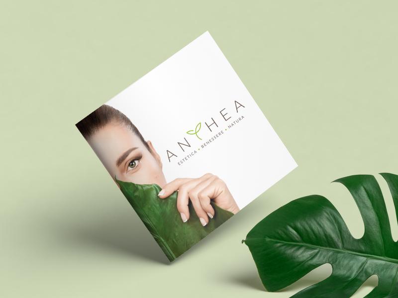 Progettazione Grafica Listino Servizi per Estetica Anthea | by Studio PATh